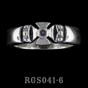 Single Formee Ring with Alexandrite RGS041-06