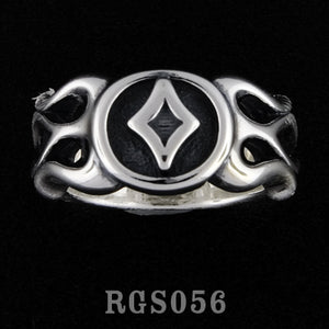 Flamed Diamond Ring RGS056
