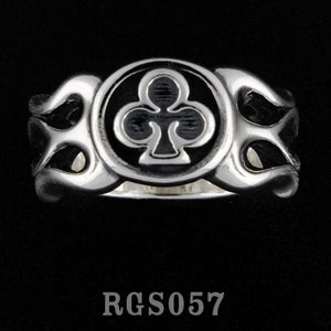 Flamed Club Ring RGS057