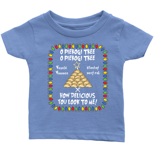 Slovak Pierogi Tree Infant Shirt Holiday Clothing