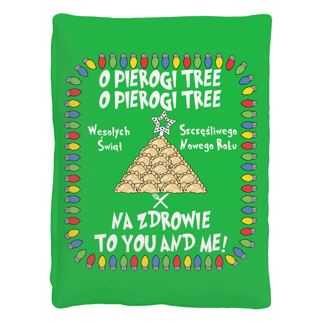 Na Zdrowie Pierogi Tree Pet Bed Holiday Clothing