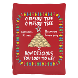 Ukrainian Pierogi Tree Pet Bed Holiday Clothing