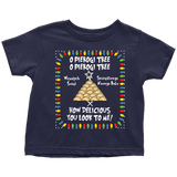 Polish Pierogi Tree Holiday Toddler T-Shirt Holiday Clothing