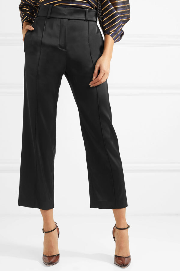 Alexandre Vauthier Satin Suit Pants