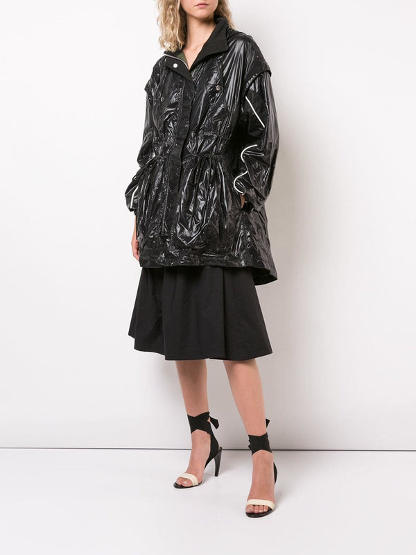 Proenza Schouler Shiny Hooded Windbreaker