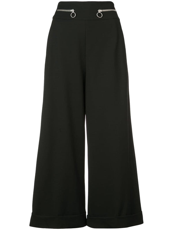 Proenza Schouler High Waisted Wool Culotte