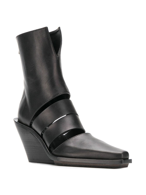 Ann Demeulemeester Cut Out Western Boot