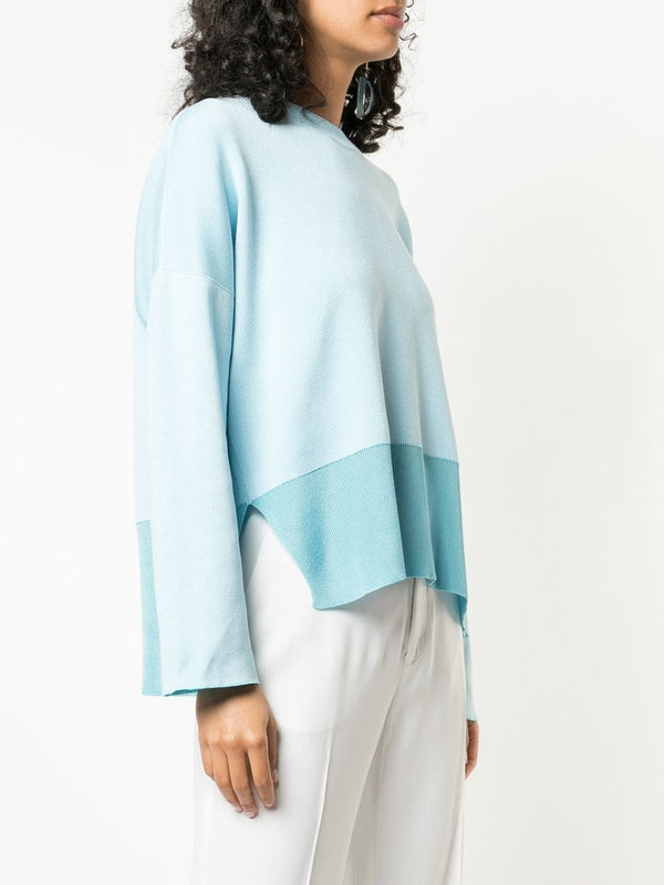 Cedric Charlier Two Tone Sweater