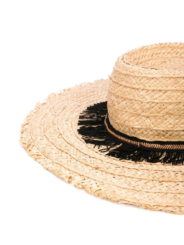 Forte Forte My Straw Hat w/Embroidered Band