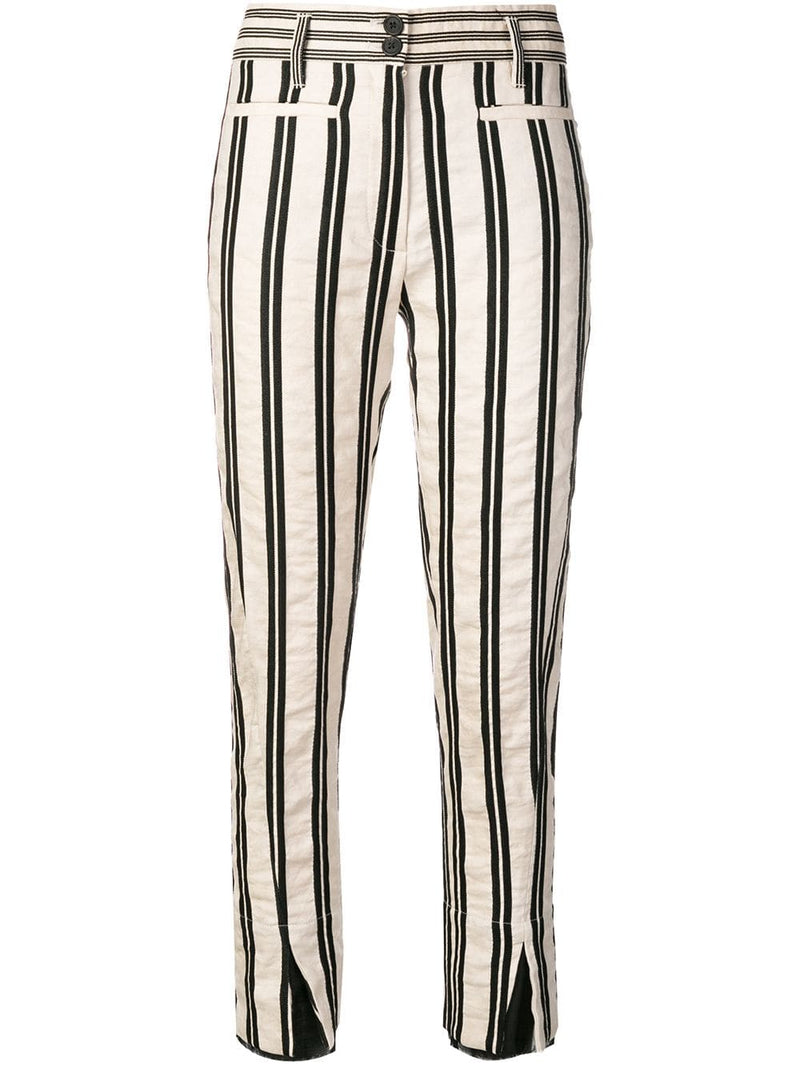 Ann Demeulemeester Striped Trousers