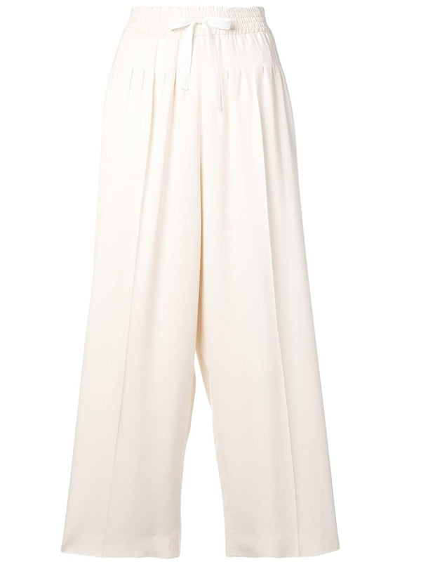 Haider Ackermann Cropped Darted Trousers