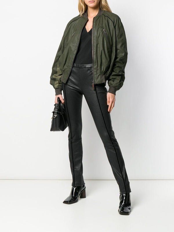 Haider Ackermann Stretch Leather Trousers
