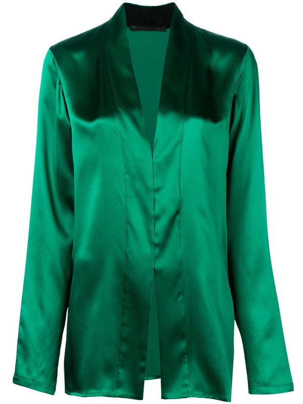 Haider Ackermann Shawl Collar Shirt