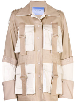 Mugler Belted Safari Jacket