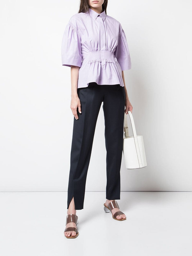 Cedric Charlier Collared Blouse