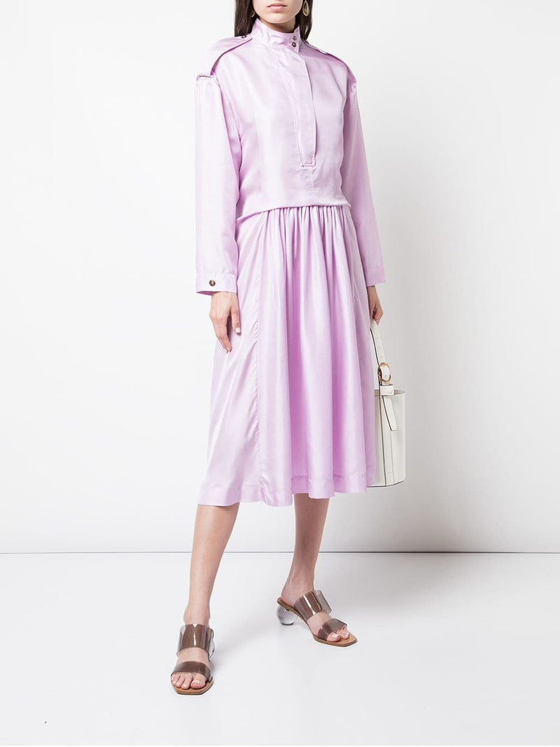 Cedric Charlier Lilac Members Only Dress