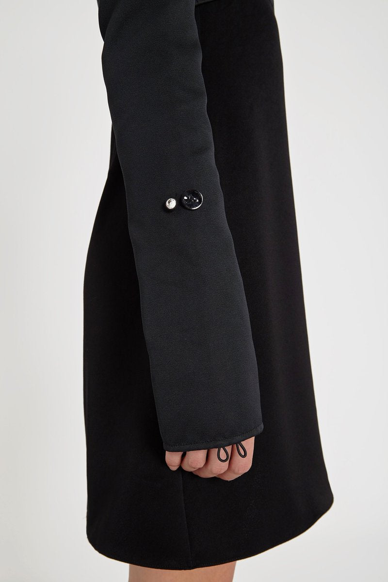 Ellery Heritage Puff Sleeve Dress