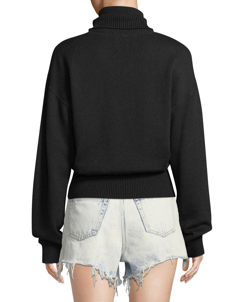 Alexander Wang.t Double Layered Long Sleeve Turtleneck