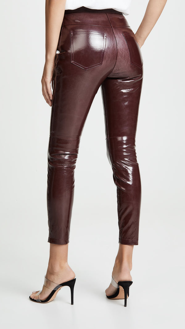Alexander Wang High-waist Pant w/Snap Detail