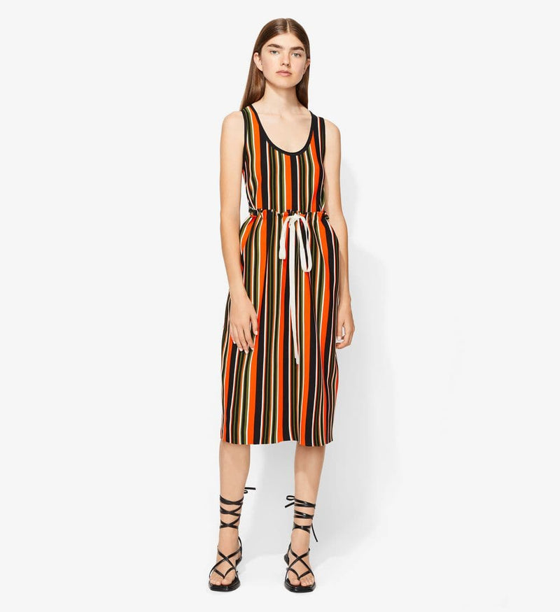 Proenza Schouler Knit Tank Dress W/Tie