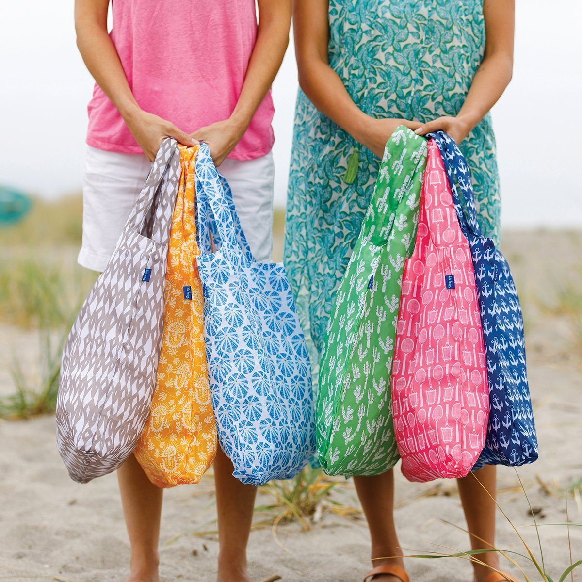 blu bags- colorful, eco friendly, reusable shopping bags