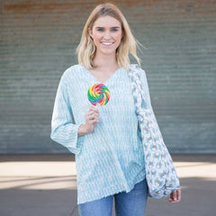 Rita Ocean Cotton Pocket Tunic