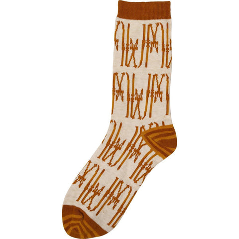 Mont Blanc Pair of Crew Length Socks - rockflowerpaper LLC