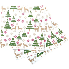 Deer Tree Cocktail Napkin - rockflowerpaper LLC