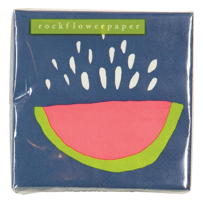 Juicy Watermelon Cocktail Napkins - rockflowerpaper LLC