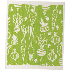 Veggies Eco Friendly Blu Dish Cloths - Set of Two