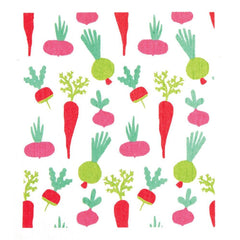 Garden Red Eco Friendly Blu Dish Cloths - Set Of Two