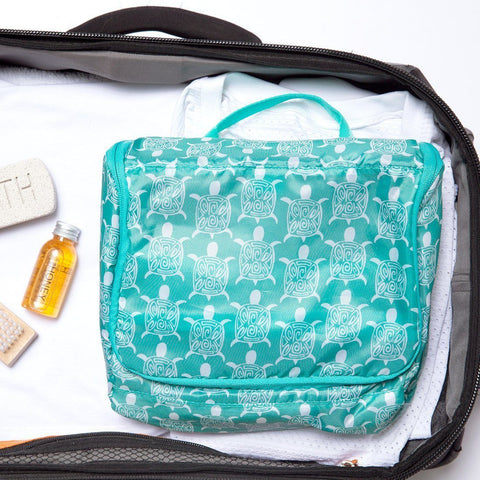 Sea Turtle Hanging Toiletry Bag