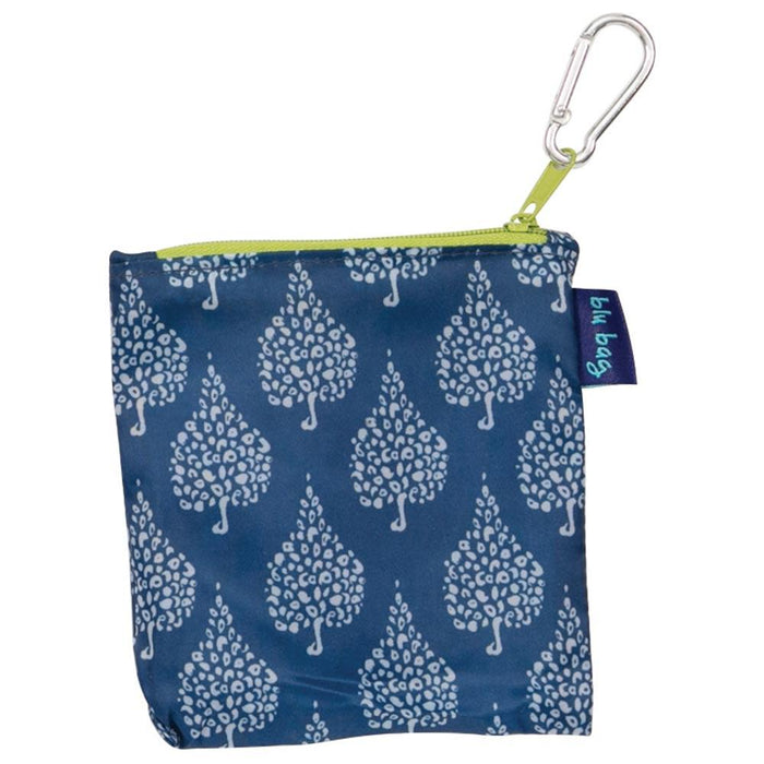 Crete Navy Blu Bag Reusable Shopping Bag - rockflowerpaper LLC