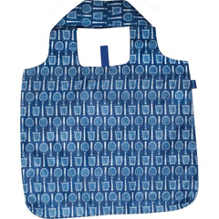 Wimbledon Navy Blu Bag Reusable Shopping Tote