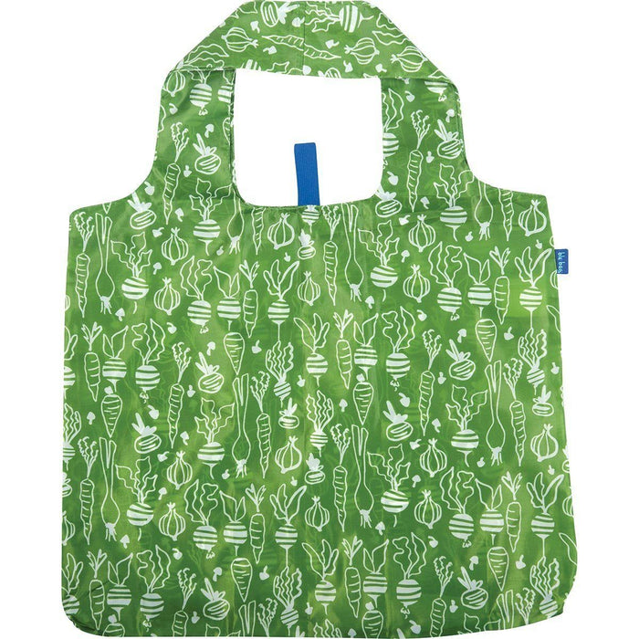 Veggies Green Blu Bag Reusable Shopping Bag - rockflowerpaper LLC