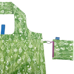 Veggies Green Blu Bag Reusable Shopping Bag