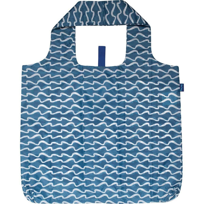 Surf Blue Blu Bag Reusable Shopping Tote - rockflowerpaper LLC