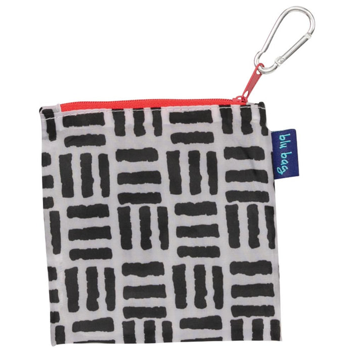 Pillars Black Blu Bag Reusable Shopping Tote - rockflowerpaper LLC