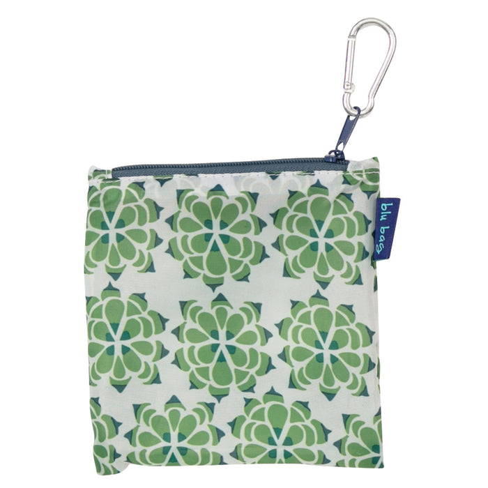 Desert Succulent Blu Bag Reusable Shopping Bags - rockflowerpaper LLC