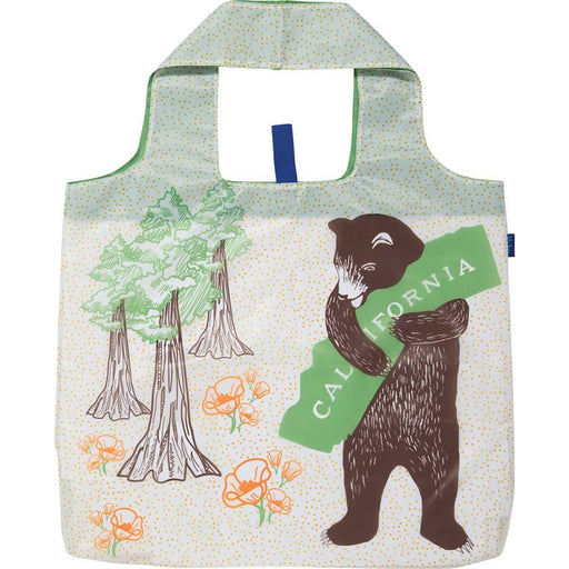 California Bear Blu Bag Reusable Shopping Tote - rockflowerpaper LLC