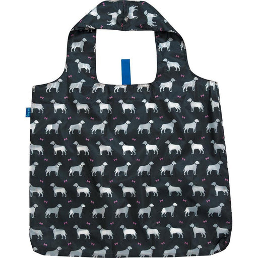 Dogs Black Blu Bag Reusable Shopping Bags - rockflowerpaper LLC