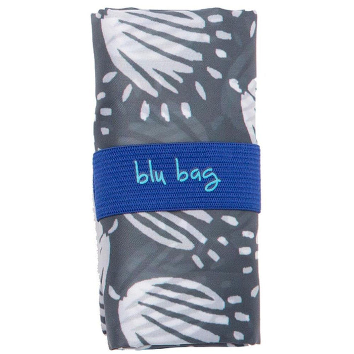 Maisie Grey Blu Bag Reusable Shopping Bags - rockflowerpaper LLC