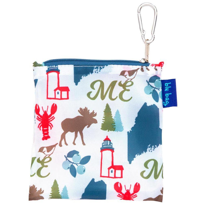 Maine Blue Blu Bag Reusable Shopping Bags - rockflowerpaper LLC