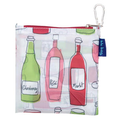 Wine Purple Blu Bag Reusable Shopping Bags