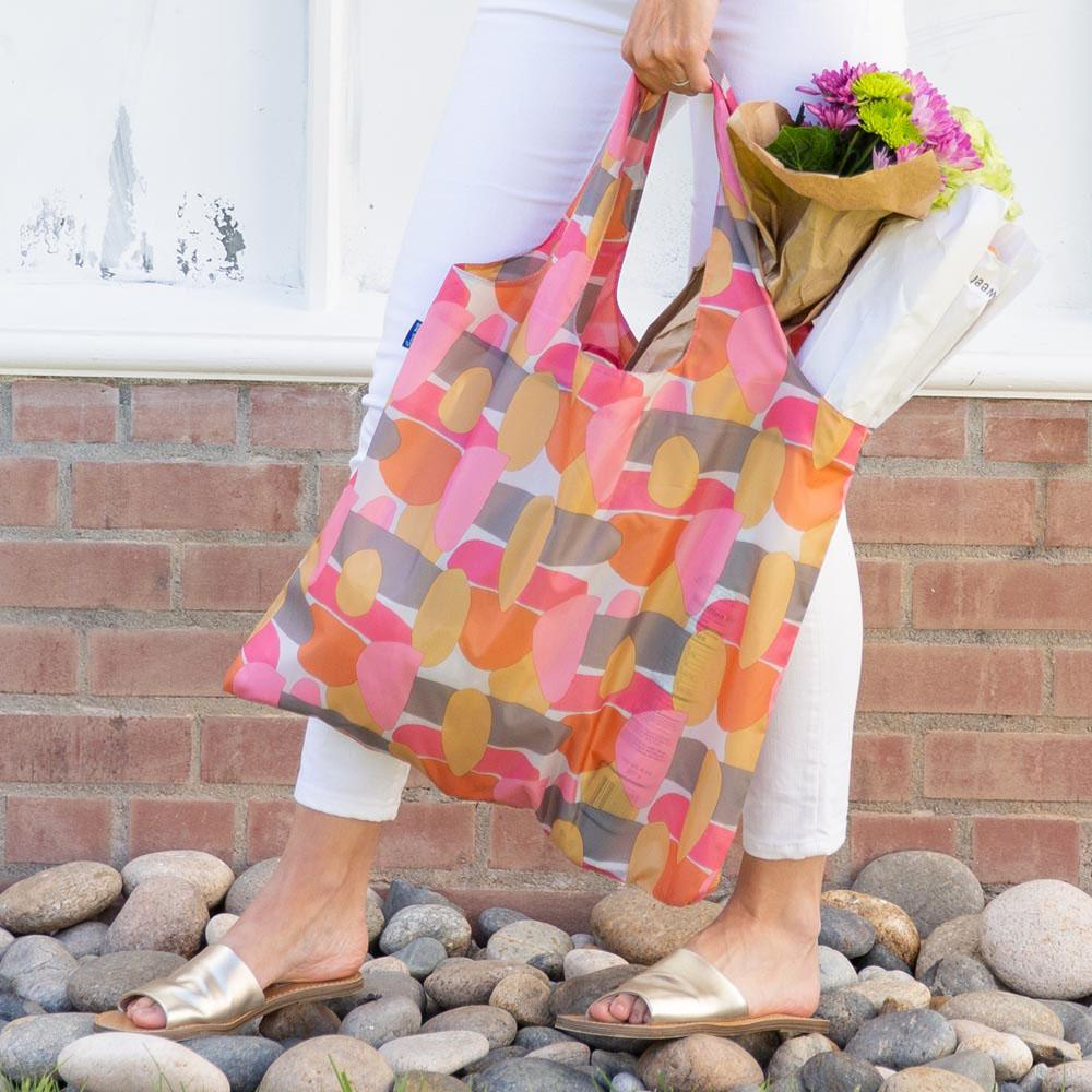 Vera Spice Blu Bag Reusable Shopping Bags - rockflowerpaper LLC