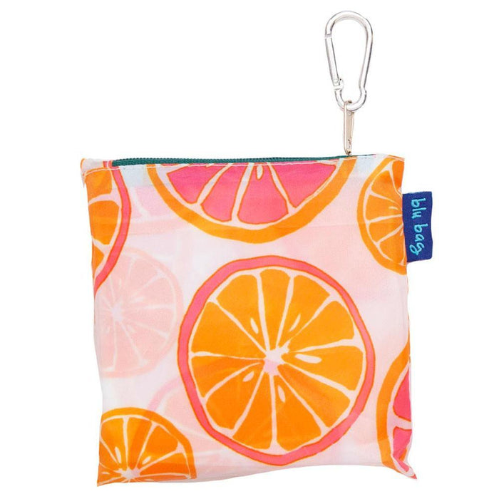Citrus Red Blu Bag Reusable Shopping Bags - rockflowerpaper LLC