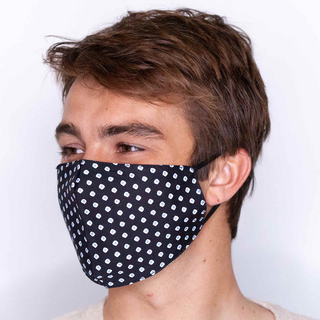 Ted Black Reusable Cotton Men's Mask