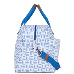 Pillars Blue Overnighter Bag