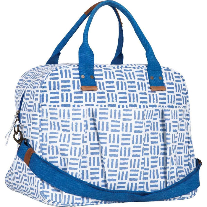 Pillars Blue Overnighter Bag - rockflowerpaper LLC