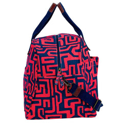 Jess Magenta Overnighter Bag